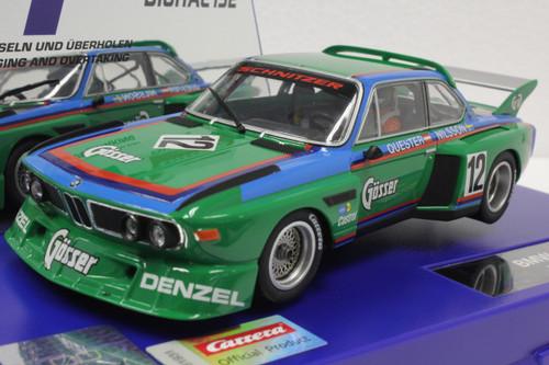 30897 Carrera Digital 132 BMW 3.5 CSL 1976, #12 1:32 Slot Car w/lights