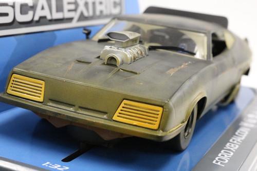 SEC3983 Carrera Digital 132 Ford Falcon XB Mad Max 2 Matte Black 1:32 Slot Car