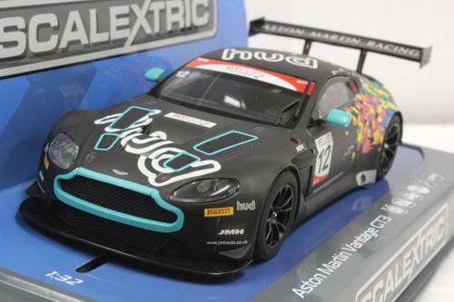 SEC3945 Carrera Digital 132 Aston Martin GT3, #12 1:32 Slot Car
