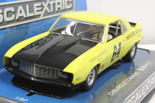 SEC3724 Carrera Digital 132 Chevrolet Camaro Trans Am 1969, #64 1:32 Slot Car