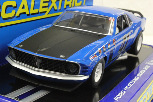 SEC3613 Carrera Digital 132 Mustang Trans Am Boss 302, #41 1:32 Slot Car