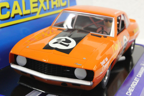 SEC3611 Carrera Digital 132 1969 Chevrolet Camaro Trans Am, #2 1:32 Slot Car