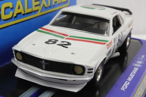 SEC3538 Carrera Digital 132 Mustang Trans Am Boss 302 GTX, #82 1:32 Slot Car