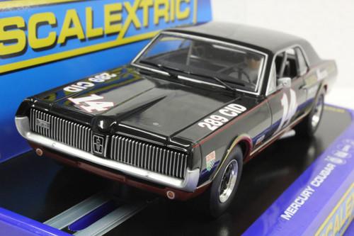 SEC3536 Carrera Digital 132 1967 Mercury Cougar Trans Am, #14 1:32 Slot Car