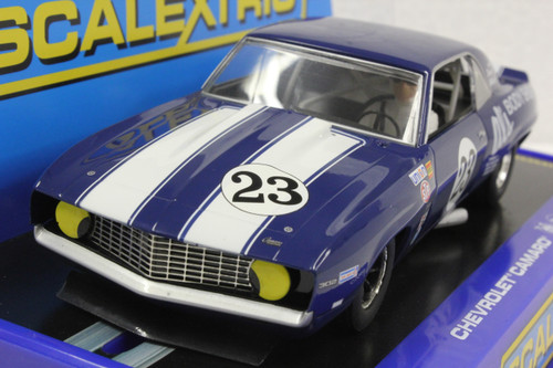 SEC3532 Carrera Digital 132 '69 Chevrolet Camaro Z28 Trans Am, #23 1:32 Slot Car