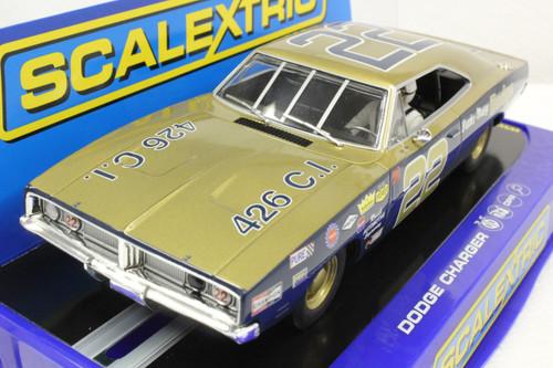 SEC3323 Carrera Digital 132 Dodge Charger 500, #22 Ltd Ed 1:32 Slot Car