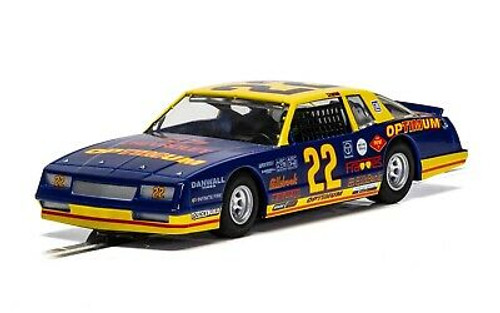 C4038 Scalextric Chevy Monte Carlo Optimum 1986, #22 1:32 Slot Car *DPR*