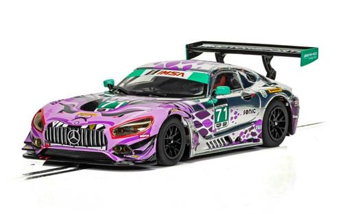 C4044 Scalextric Mercedes AMG GT3 Daytona 2018, #71 1:32 Slot Car *DPR*