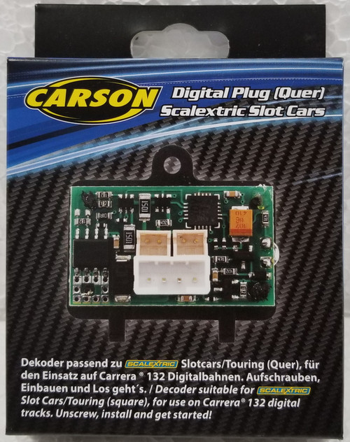 500707130 Carson Digital Plug Chip for Scalextric DPR to Carrera Digital 1:32 Slot Car Part