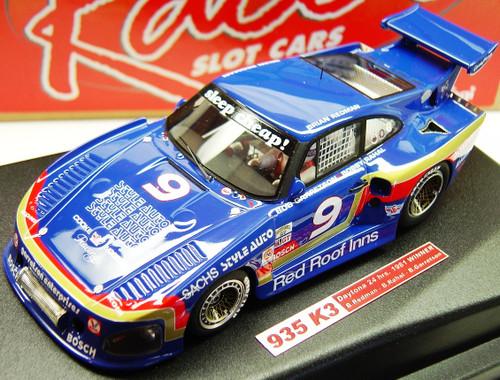 RCR24 Racer Porsche 935 K3 Daytona 24H 1981 Winner B.Redman/B. Rahal/B.Garretson 1:32 Slot Car