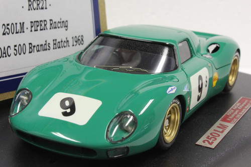 RCR21 Racer Ferrari 250 LM Piper Racing P. Rodriguez/R. Pierpoint BOAC 500 Brands Hatch 1968 1:32 Slot Car