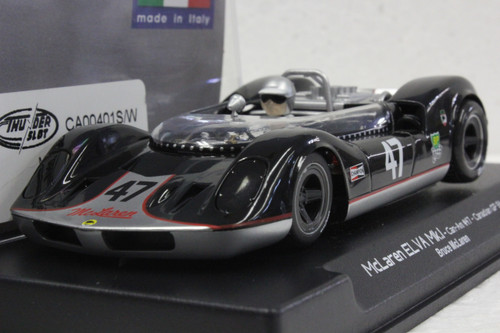 CA00401S/W Thunderslot McLaren ELVA MK.I Canadian GP 1964, #47 1:32 Slot Car