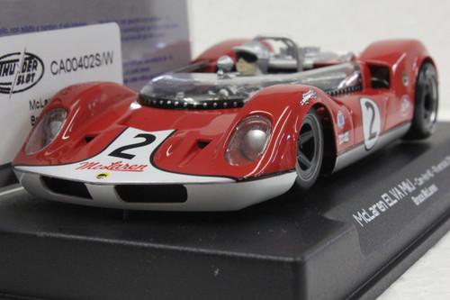 CA00402S/W Thunderslot  McLaren ELVA MK.I Riverside 1964, #2 1:32 Slot Car