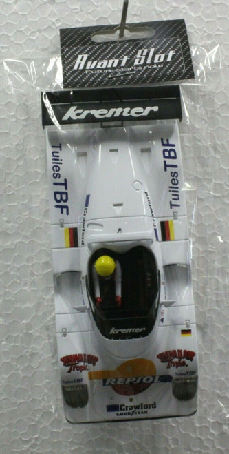 20253A Avant Slot Kremer Respol Painted Body Kit and Chassis 1:32 Slot Car Part