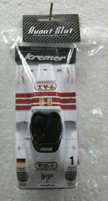 20253C Avant Slot Kremer FAT Painted Body Kit and Chassis 1:32 Slot Car Part