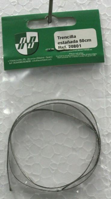 20801 Avant Slot Silver Braid Roll 50cm x 0.02mm 1:32 Slot Car Part