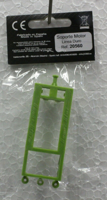 20560 Avant Slot Inline Long Can Motor Mount Hard Green 1:32 Slot Car Part