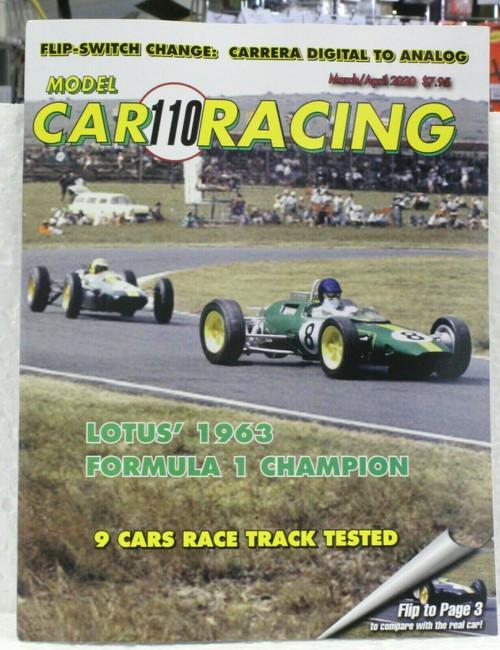 MCRM110 Model Car Racing Magazine #110 - March/April 2020 1:32 Slot Car Magazine