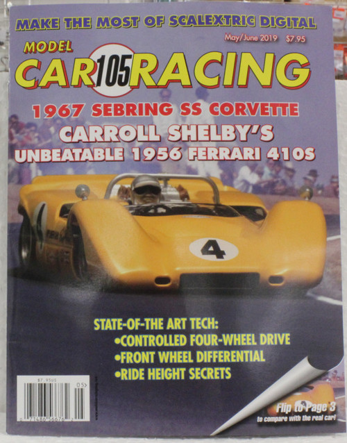 MCRM105 Model Car Racing Magazine #105 - May/June 2019 1:32 Slot Car Magazine