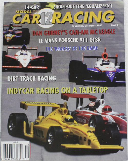 MCRM12 Model Car Racing Magazine #12 - November/December 2003 1:32 Slot Car Magazine
