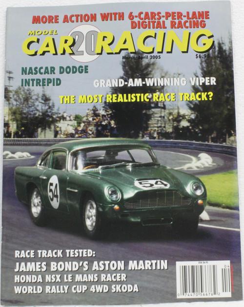 MCRM20 Model Car Racing Magazine #20 - March/April 2005 1:32 Slot Car Magazine
