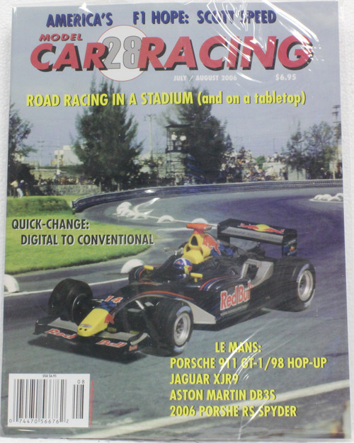 MCRM28 Model Car Racing Magazine #28 - July/August 2006 1:32 Slot Car Magazine