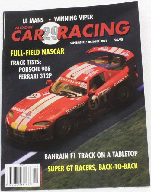 MCRM29 Model Car Racing Magazine #29 - September/October 2006 1:32 Slot Car Magazine