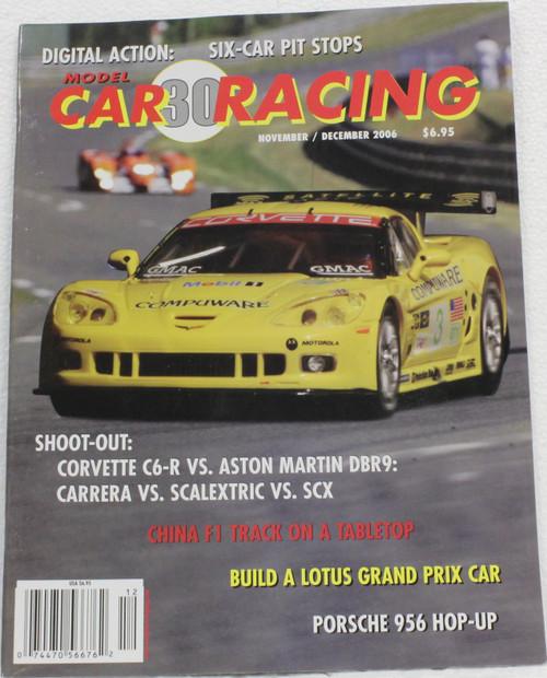 MCRM30 Model Car Racing Magazine #30 - November/December 2006 1:32 Slot Car Magazine