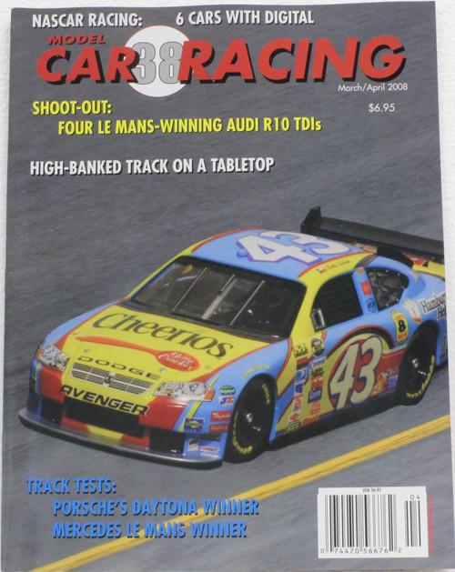 MCRM38 Model Car Racing Magazine #38 - March/April 2008 1:32 Slot Car Magazine