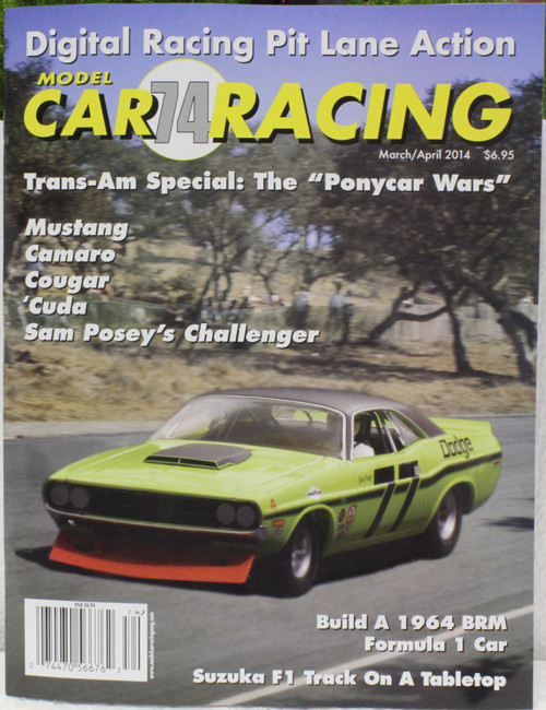 MCRM74 Model Car Racing Magazine #74 - March/April 2014 1:32 Slot Car Magazine