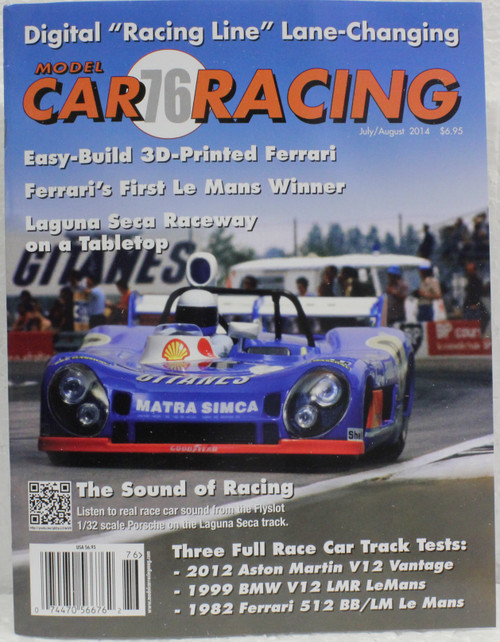 MCRM76 Model Car Racing Magazine #76 - July/August 2014 1:32 Slot Car Magazine