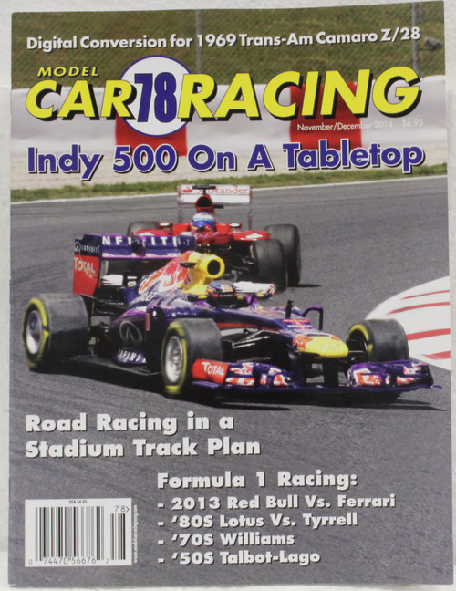 MCRM78 Model Car Racing Magazine #78 - November/December 2014 1:32 Slot Car Magazine