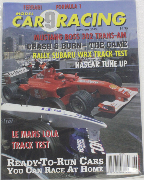 MCRM9 Model Car Racing Magazine #9 - May/June 2003 1:32 Slot Car Magazine
