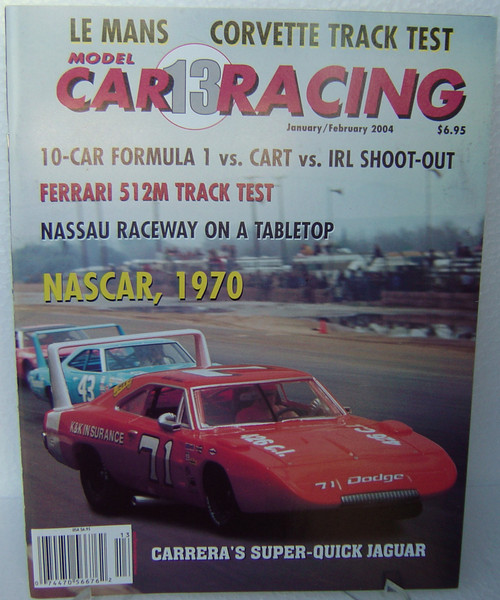 MCRM13 Model Car Racing Magazine #13 - January/February 2004 1:32 Slot Car Magazine