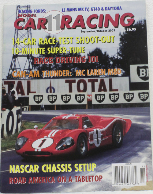 MCRM11 Model Car Racing Magazine #11 - September/October 2003 1:32 Slot Car Magazin