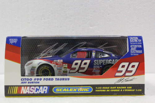 C2371 Scalextric Ford Taurus Jeff Burton CITGO, #99 1:32 Slot Car