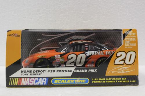 C2444 Scalextric Pontiac Grand Prix Tony Stewart Home Depot, #20 1:32 Slot Car