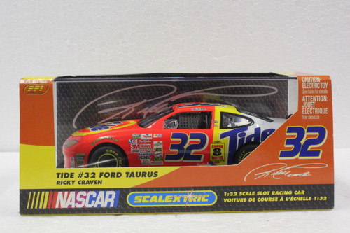 C2419 Scalextric Ford Taurus Ricky Craven TIDE, #32 1:32 Slot Car