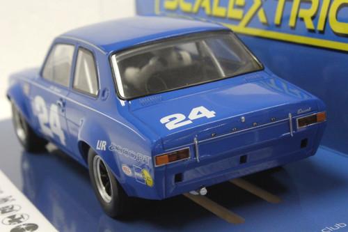 C4085 Scalextric Ford Escort MK1 Daytona 1972, #24 1:32 Slot Car *DPR*