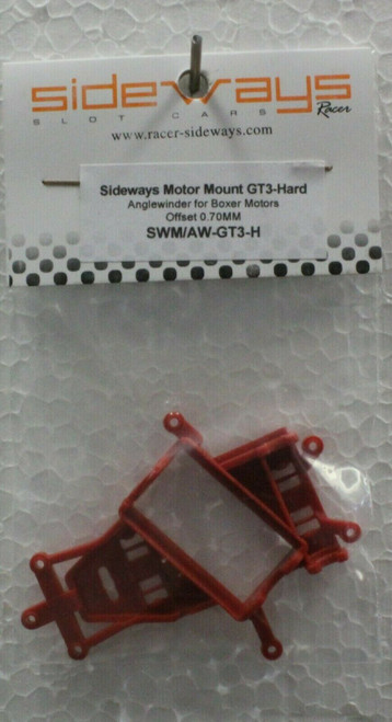 SWM/AW-GT3-H Racer Sideways Anglewinder Motor Pod for GT3 Hard 1:32 Slot Car Part