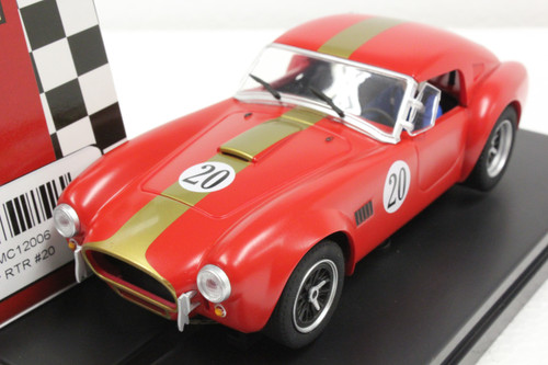 MC12006 MRRC AC Cobra Coupe RTR, #20 1:32 Slot Car