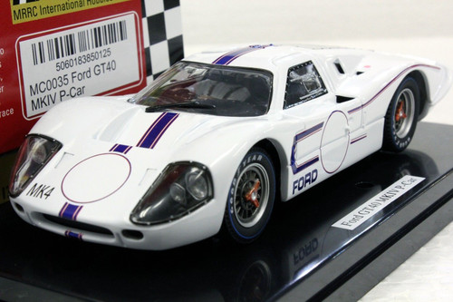 MC0035 MRRC Ford MKIV LM Presentation Car 1967 1:32 Slot Car
