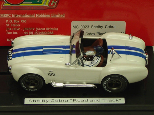 MC0023 MRRC Ford Shelby Cobra Road and Track 1:32 Slot Car
