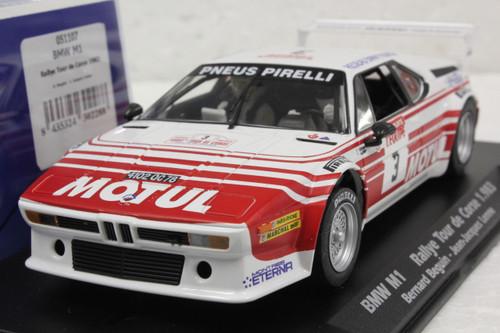 051107 Fly BMW M1 Rallye Tour De Corse 1983, #3 1:32 Slot Car