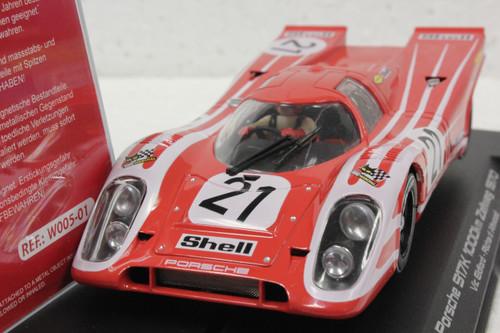 W005-01 Slotwings Porsche 917K 1000km Zeltweg 1970, #21 1:32 Slot Car