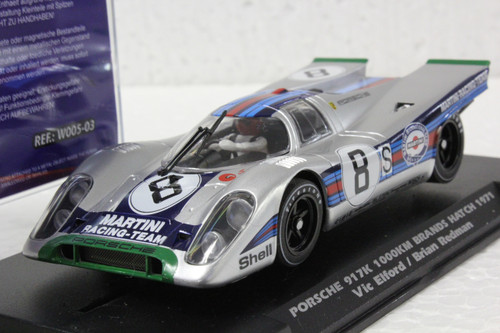 W005-03 Slotwings Porsche 917K 1000km Brands Hatch 1971, #8 1:32 Slot Car