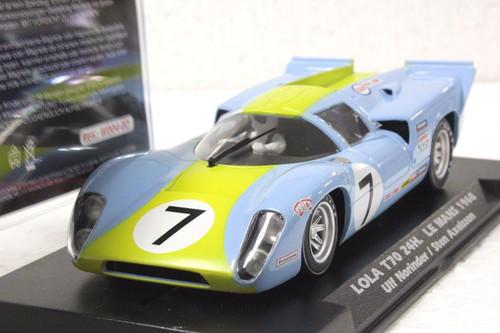 W004-02 Slotwings Lola T70 24h Le Mans 1968, #7 1:32 Slot Car