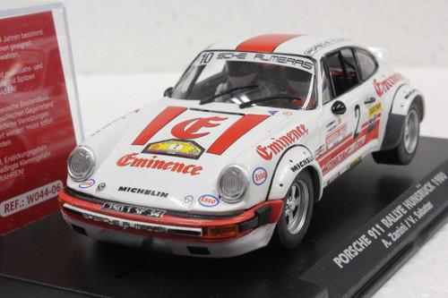 W044-06 Slotwings Porsche 911 Rallye Hunsruck 1980 Eminence, #2 1:32 Slot Car