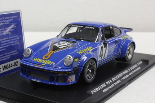 W044-02 Slotwings Porsche 934 Silverstone 6h 1978 Wrangler, #47 1:32 Slot Car