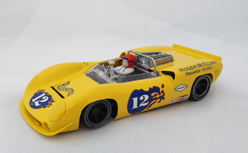 CA00204S/W Thunderslot Lola T70 Mosport Park Can-Am 1967, #12 1:32 Slot Car